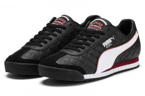 PUMA ROMA x THE GODFATHER LOUIS - PUMA BLACK/FIRED BRICK