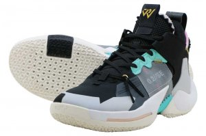 NIKE JORDAN WHY NOT ZERO.2 SE PF - BLACK/VAST GREY-WHITE-SAIL