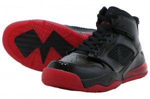 NIKE JORDAN MARS 270 - BLACK/ANTHRACITE-GYM RED