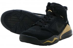NIKE JORDAN MARS 270 - BLACK/ANTHRACITE-METALIC GOLD