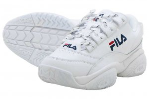 FILA PROVENANCE フィラ プロヴィナンス WHITE/NAVY/RED F0400-0125