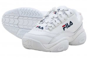 FILA PROVENANCE フィラ プロヴィナンス WHITE/NAVY/RED F0401-0005
