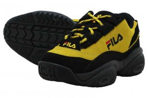 FILA PROVENANCE フィラ プロヴィナンス SULPHUR/BLACK/WHITE F0401-0702