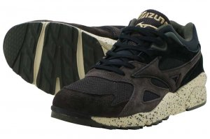 MIZUNO SKY MEDAL - BLACK/BROWN/DARK GREEN