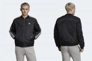 adidas Originals BOMBER PADDED JACKET - BLACK