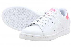 adidas STAN SMITH J アディダス スタンスミス J R WHITE/R WHITE/REAL PINK EE7573