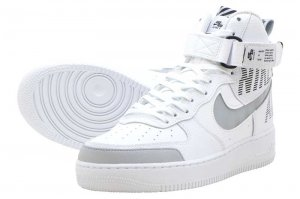 NIKE AIR FORCE 1 HIGH 07 LV8 2 - WHITE/WOLF GREY-WOLF GREY
