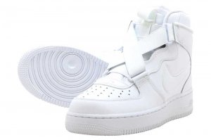 NIKE AIR FORCE 1 HIGHNESS (GS) - WHITE/WHITE-WHITE