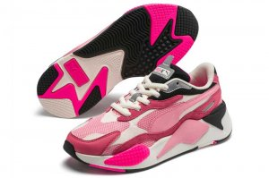 PUMA RS-X3 PUZZLE - RAPTURE ROSE/PEONY/WHISPER WHITE
