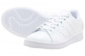 adidas STAN SMITH J アディダス スタンスミス J FTW WHITE/FTW WHITE/CORE BLACK FU6673