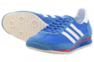 adidas SL 72 - BLUE/FTW WHITE/HI RES RED