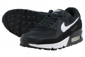NIKE W AIR MAX 90 - BLACK/WHITE-BLACK
