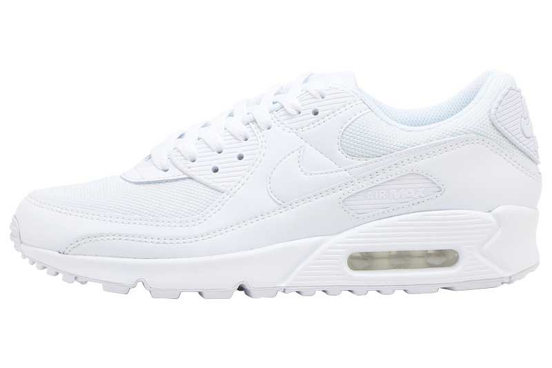 NIKE AIR MAX 90 - WHITE/WHITE-WHITE-WOLF GREY