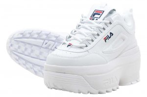 FILA DISRUPTOR II WEDGE - WHITE