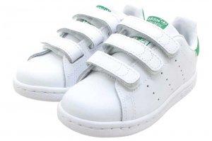 adidas STAN SMITH CF I - FTW WHITE/FTW WHITE/GREEN