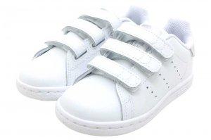 adidas STAN SMITH CF I - FTW WHITE/FTW WHITE/CORE BLACK