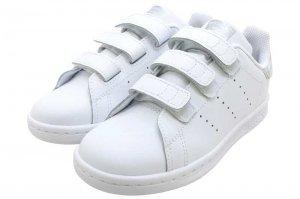 adidas STAN SMITH CF C - FTW WHITE/FTW WHITE/CORE BLACK