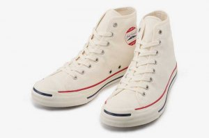 CONVERSE JACK PURCELL PP RH HI - WHITE