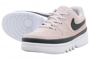 NIKE WMNS AJ 1 JESTER XX LOW LACED - BARELY ROSE/BLACK-WHITE