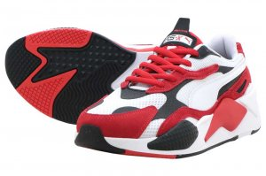 PUMA RS-X3 SUPER プーマ RS-X3 スーパー PUMA WHITE/HIGH RISK RED 372884-01