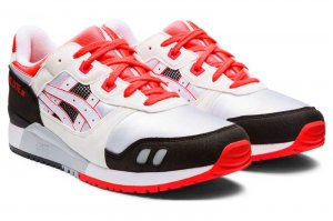asics GEL-LYTE III OG - WHITE/FLASH CORAL