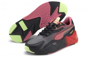 PUMA RS-X3 SONIC COLOR 2 プーマ RS-X3 ソニック カラー 2 PUMA BLACK/HIGH RISK RED 374313-01