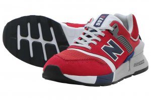 New Balance MS997 LOR - RED/NAVY