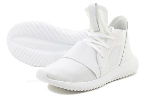 adidas TUBULAR DFNT W - WHITE/WHITE