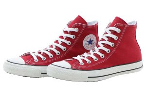 CONVERSE ALL STAR 100 COLORS HI - RED