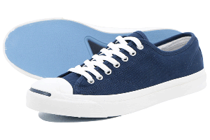 CONVERSE JACK PURCELL CANVAS - NAVY