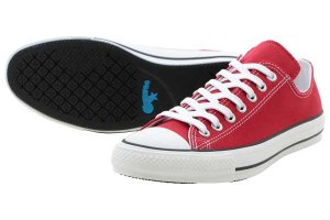 CONVERSE ALL STAR 100 COLORS OX - RED