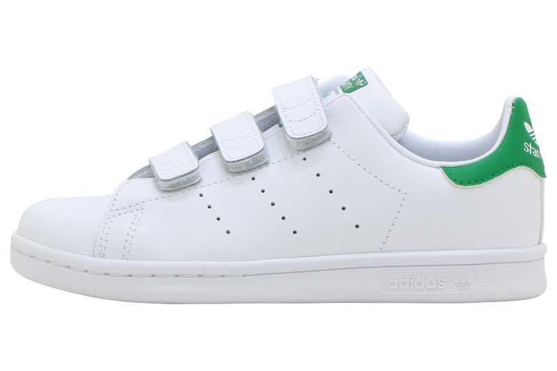 adidas STAN SMITH CF C アディダス スタンスミス CF C FTW WHITE/FTW WHITE/GREEN M20607