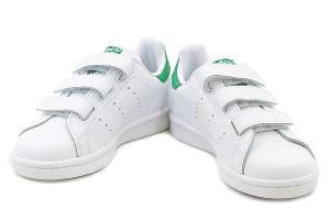 adidas STAN SMITH CF C - FTW WHITE/FTW WHITE/GREEN