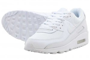 NIKE W AIR MAX 90 - WHITE/WHITE-WHITE-WOLF GREY