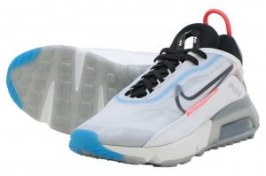 NIKE W AIR MAX 2090 - WHITE/BLACK-PURE PLATINUM