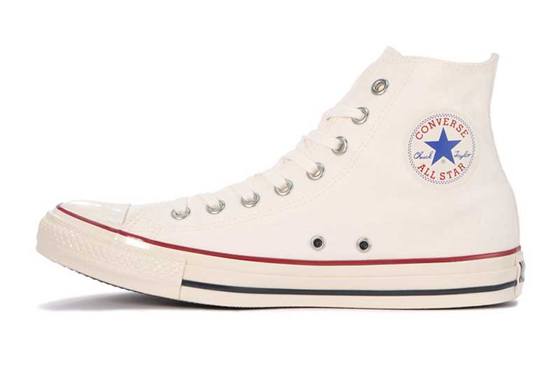 CONVERSE ALL STAR US COLORS HI - AGED WHITE