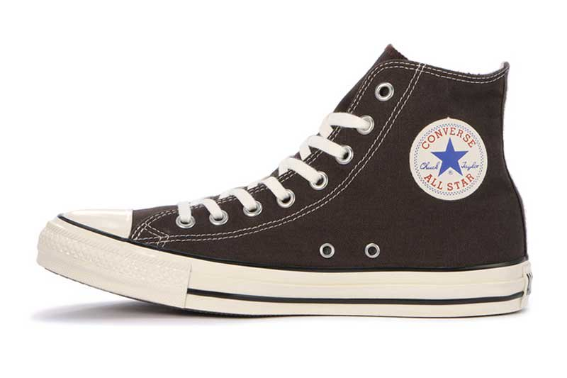CONVERSE ALL STAR US COLORS HI - EBONY BLACK