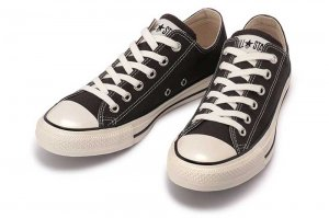 CONVERSE ALL STAR US COLORS OX - EBONY BLACK