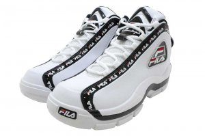 FILA GRANT HILL 1 REPEAT フィラ グラントヒル 1 リピート WHITE/BLACK/RED F4077-0113