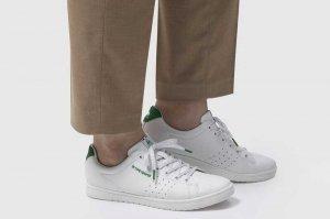 le coq sportif LA ALMA - WHITE/GREEN