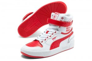 PUMA x PUBLIC ENEMY SKY LX プーマ x パブリックエナミー スカイ LX PUMA WHITE/HIGH RISK RED 374538-01