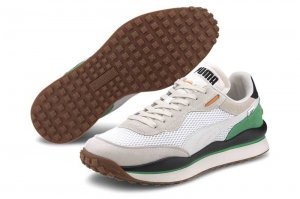 PUMA STYLE RIDER STREAM ON プーマ スタイルライダー ストリームオン PUMA WHITE/VAPOROUS GRAY 371527-02