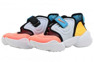 NIKE W AQUA RIFT - FOOTBALL GREY/HYPER CRIMSON