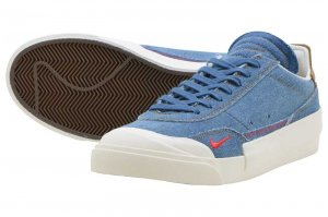 NIKE DROP-TYPE PRM - INDUSTRIAL BLUE/HABANERO RED