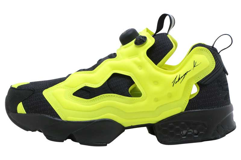 REEBOK INSTAPUMP FURY OG 90s HOUSE - BLACK/HYPE GREEN/BLACK