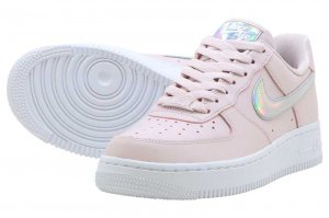 NIKE WMNS AIR FORCE 1 '07 ESSENTIAL - BARELY ROSE/WHITE-BARELY ROSE