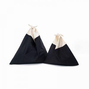 AZUMA BAG STANDARD LARGE - BLACK/OFF WHITE