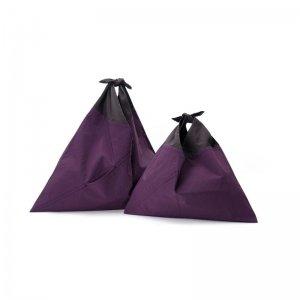 AZUMA BAG STANDARD LARGE - PURPLE/EBONY