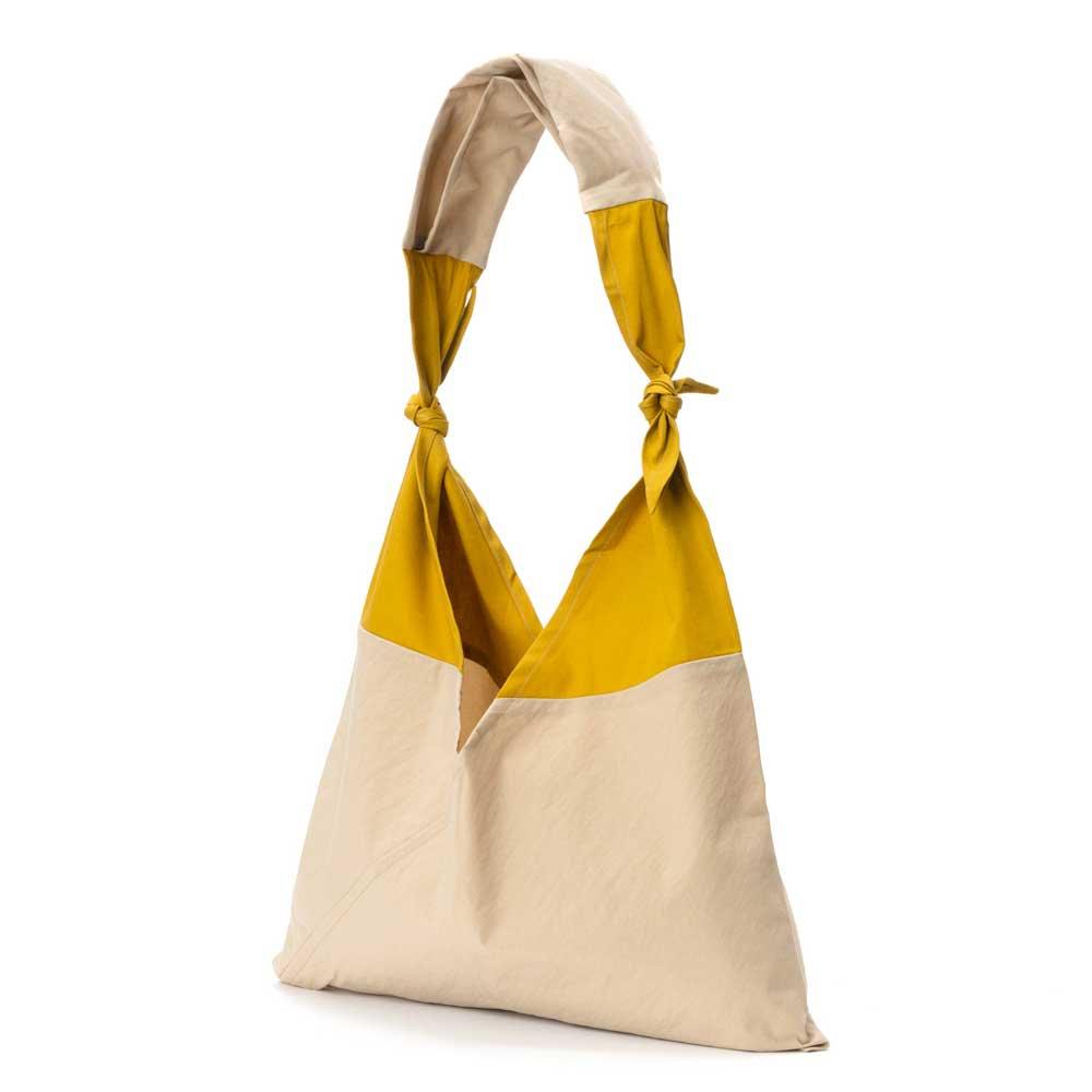 AZUMA BAG x TASUKI BAG STANDARD SMALL - BEIGE/MUSTARD
