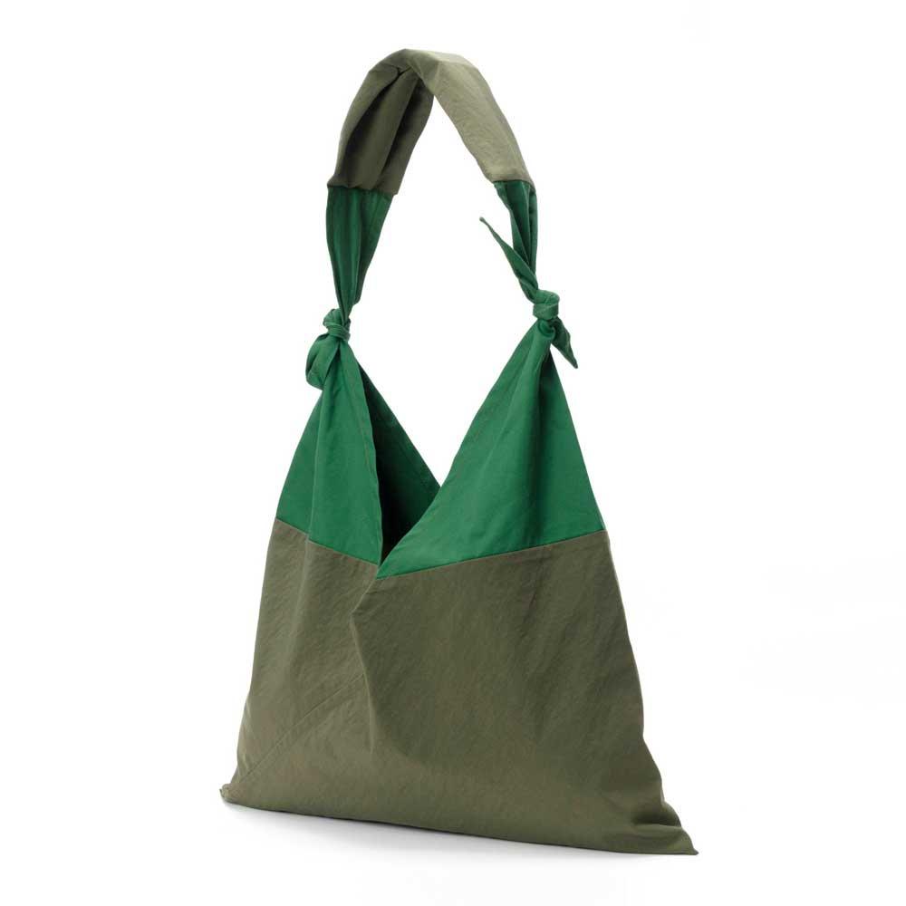 AZUMA BAG x TASUKI BAG STANDARD LARGE - OLIVE/GREEN